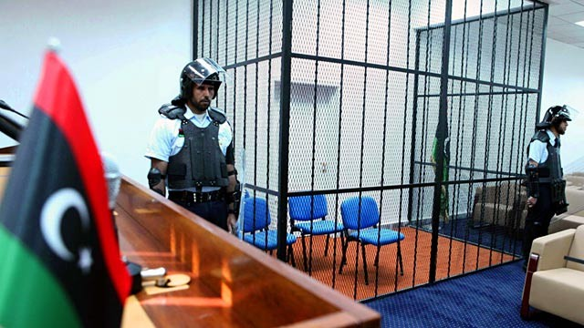 PHOTO: Courtroom where Saif al-Islam Gadhafi will be tried