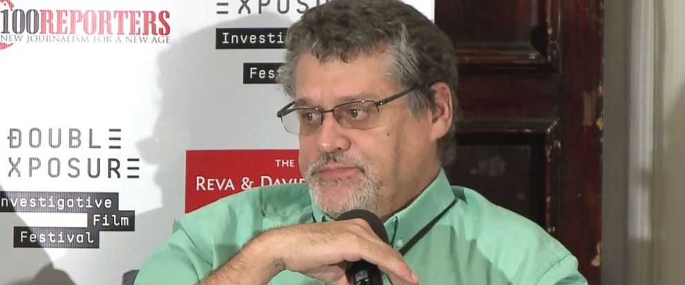 PHOTO: Glenn Simpson of Fusion GPS appeared on a panel during the 2016 Double Exposure: Investigative Film Festival and Symposium.
