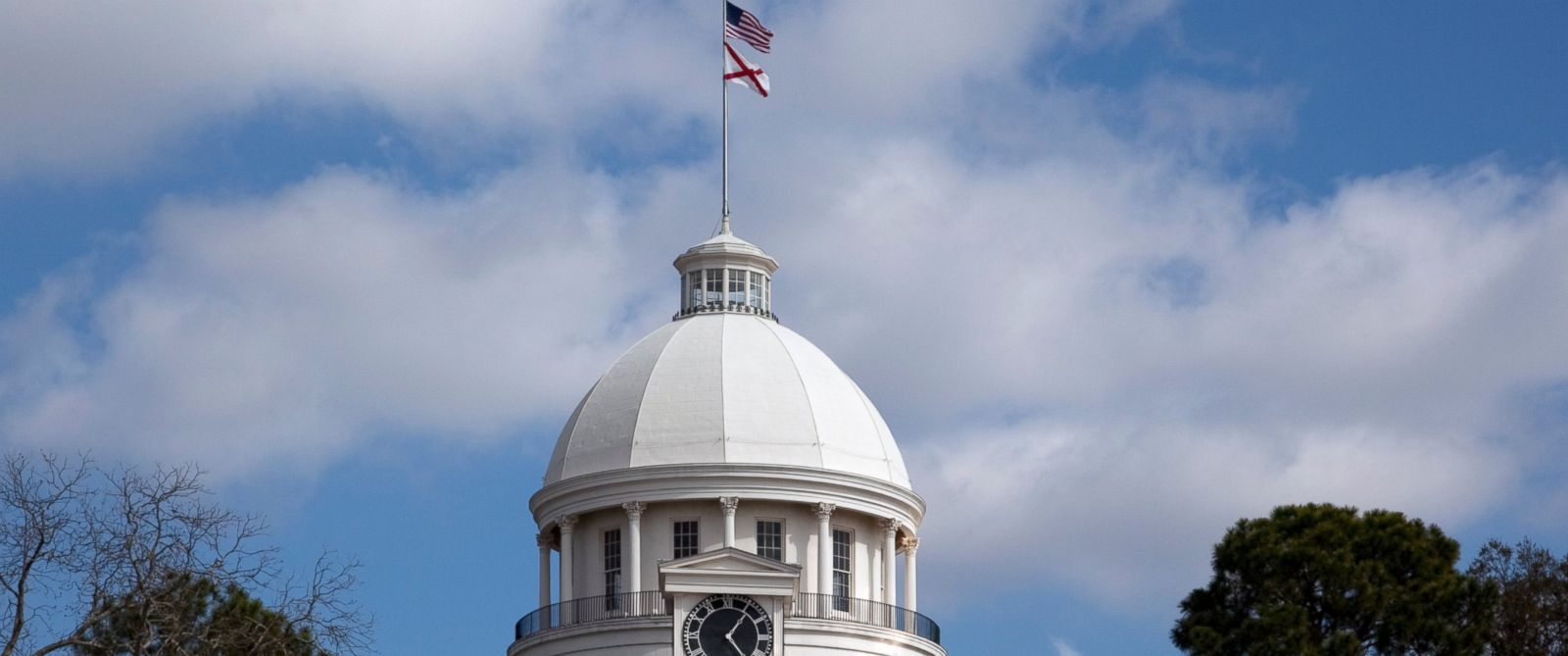 PHOTO: The Alabama State Capitol building in Montgomery, Ala.