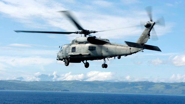 PHOTO: A new report released by the U.S. Senate Armed Services Committee claimed to have found one million suspected counterfeit electronic parts in the Department of Defense supply chain, Some of which were to be installed on the Navy's SH-60B helicopter