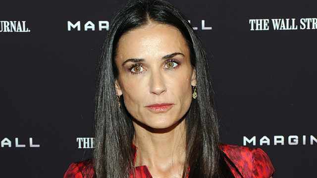 "PHOTO: Actress Demi Moore attends the ""Margin Call"" premiere at the Landmark Sunshine Cinema, Oct. 17, 2011 in New York City."