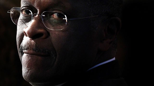 PHOTO: Republican presidential candidate Herman Cain speaks at the National Press Club, Oct. 31, 2011 in Washington, DC.