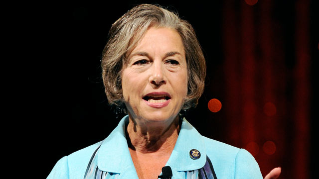 PHOTO: U.S. Rep. Jan Schakowsky at the fifth annual Netroots Nation convention, July 24, 2010 in Las Vegas, Nev.