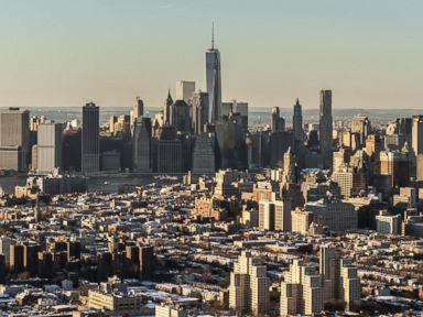 PHOTO: The skyline of Manhattan.