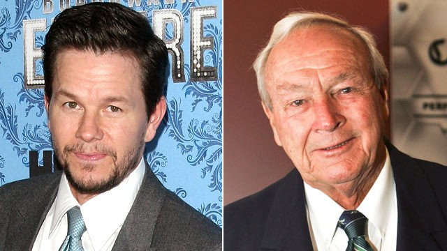 PHOTO: Mark Wahlberg and Arnold Palmer are shown in this file photo.