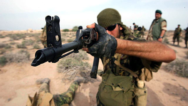 PHOTO: Irans elite Revolutionary Guard special forces participate in mi