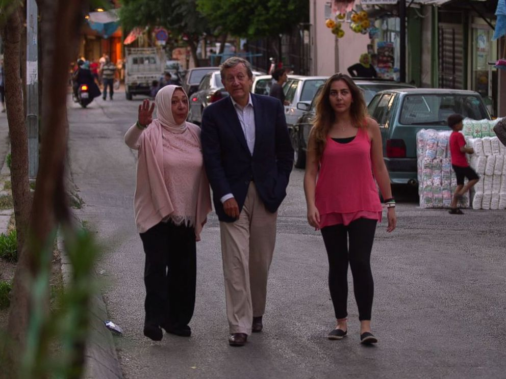 PHOTO: Halla and Orouba Barakat spoke to ABC News Brian Ross about their friend, U.S. aid worker Kayla Mueller, who was taken hostage by ISIS.