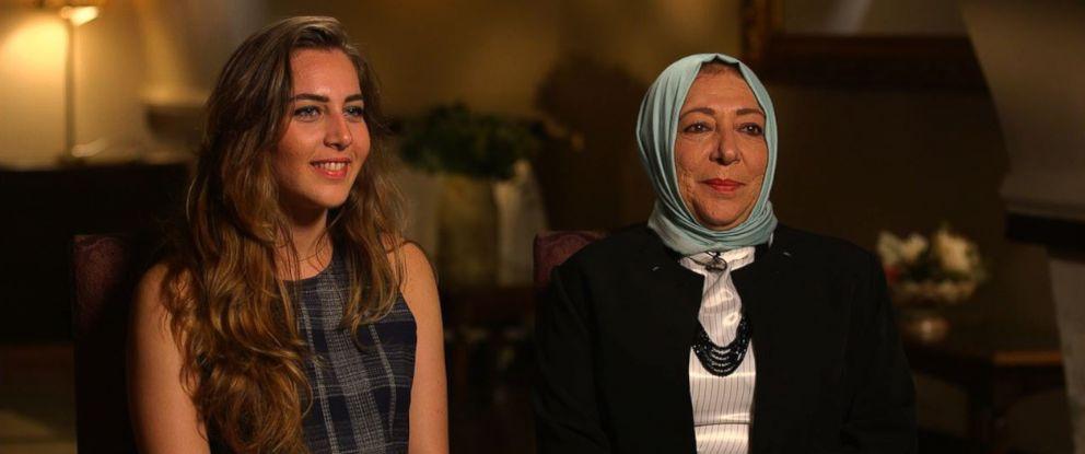 PHOTO: Halla Barakat, a journalist, and her mother Orouba Barakat, an activist, were Syrians living in Turkey. Credit: ABC News