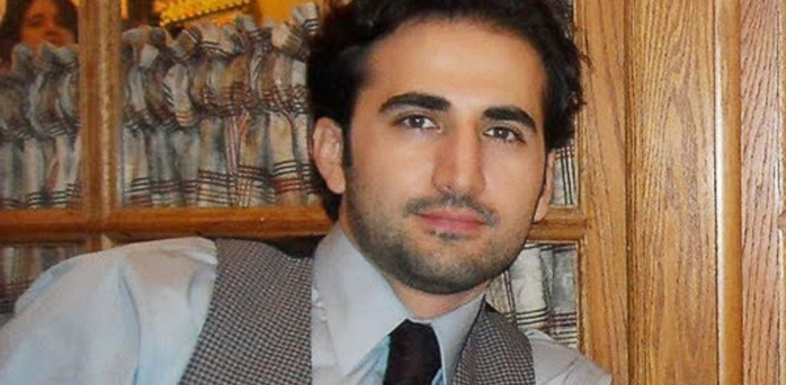 PHOTO: Former U.S. Marine Amir Hekmati is shown in this undated photo.