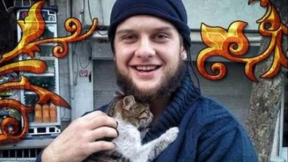 PHOTO: A rebel Islamist group in Syria posted this image online, claiming it showed an American that had taken part in a suicide operation against Syrian government forces.