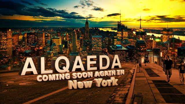 "PHOTO: Authorities are investigating a graphic that appeared Monday on Arabic-language al Qaeda forums and proclaims, ""Al Qaeda -- Coming Soon Again in New York."""
