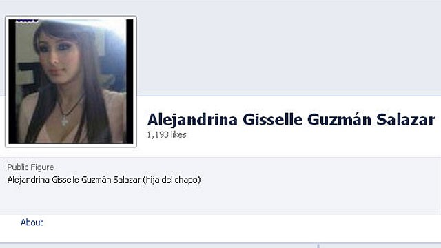 Alejandrino Gisselle Guzman Salazar, as seen on this Facebook page launched, Oct. 16, 2012, was arrested trying to cross the border into the U.S. from Mexico, Oct. 13, 2012.