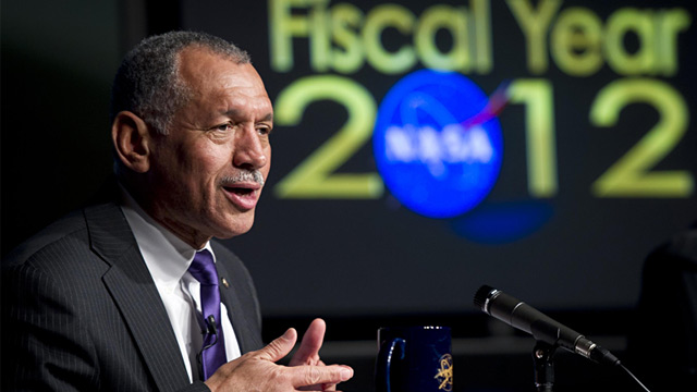 PHOTO:NASA Administrator Charles Bolden