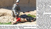 "PHOTO The US army has formally apologized ""for the distress"" caused by pictures portraying abuse allegedly committed by US troops serving in Afghanistan and published in Der Spiegel."