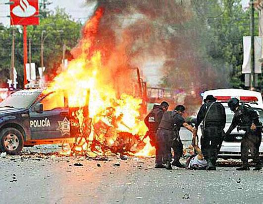 Mexico Drug Cartel Violence