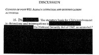 PHOTO A 2004 CIA Office of the Inspector General report is missing information on three deaths and more than a dozen detainees
