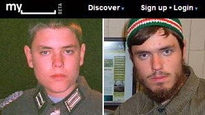 Photo: Nazi Buff Turned Jihadi Allegedly Bites FBI Agents: Emerson Begolly Paid Tribute To Bin Laden, Dressed As Nazi