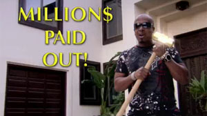 PHOTO MC Hammer is shown in a Cash4Gold.com advertisement.