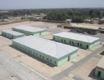 PHOTO: Northern Portion of Afghan police facility, Imam Sahib, in Emam Saheb, Konduz, Afghanistan.
