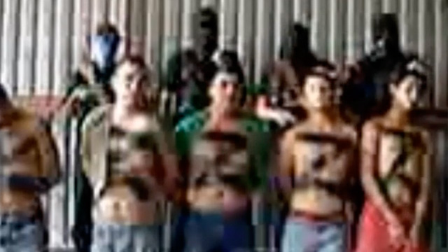 PHOTO: Still from Mexican drug gang execution