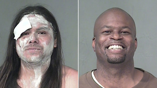 PHOTO: Benjamin Luna and Carl Duane Dobbins are currently in 1st and 3rd place in the Maricopa County Mugshot Of the Day leader board, April 20, 2011.