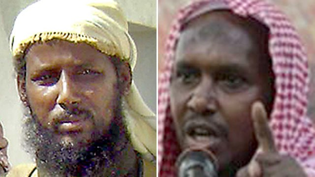 PHOTO: The U.S. government is offering $33 million for information leading to the capture of seven of Somali al Qaeda affiliate al Shabaab's top leaders, including $7 million for founder Ahmed Abdi aw-Mohamed, also known as Abu Zubeir or Godane.
