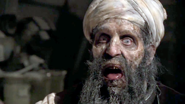 PHOTO: A Utah production company announced today that they are preparing to release a movie based on the premise that Osama bin Laden rises from his watery grave and leads an army of zombie terrorists in a violent insurgency of the undead.