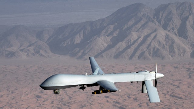 PHOTO: The MQ-1 Predator unmanned aircraft.