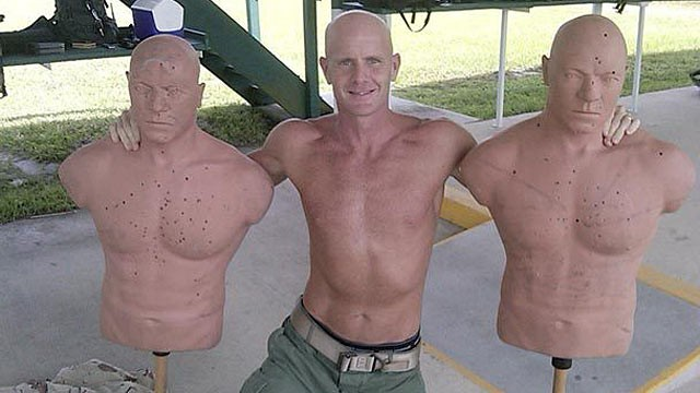 PHOTO: FBI Special Agent Fred Humphries sent out this shirtless picture of himself to numerous people, including a Seattle Times reporter.