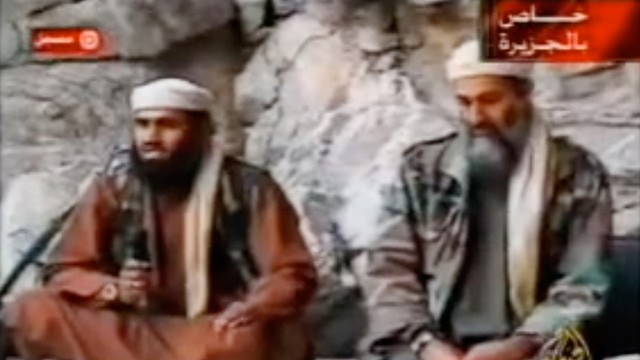 PHOTO: Suleiman Abu Ghaith and Osama bin Laden