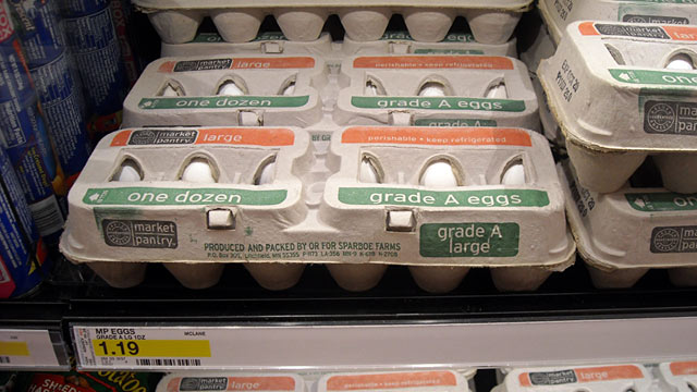 PHOTO: Sparboe Farms eggs at Target store