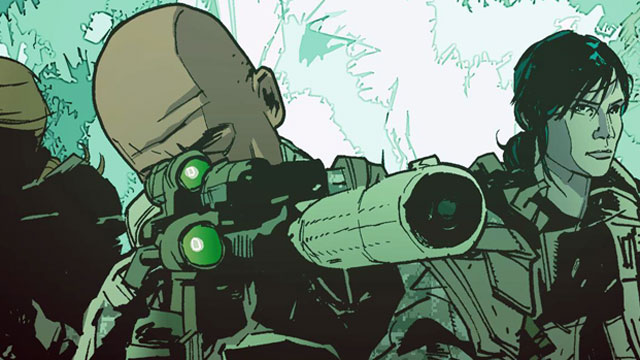 "PHOTO: The graphic novel ""The Activity"" tells fictional stories based on a very real secret Army intelligence unit."
