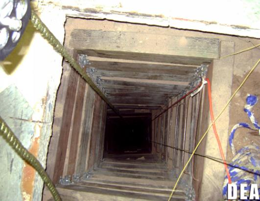 Secret Drug Tunnels to US