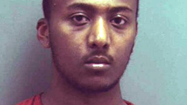 PHOTO: Yonathan Melaku is shown in this booking photo.