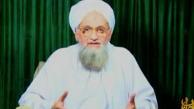 PHOTO: Ayman Mohammed Rabie al-Zawahiri, the Al Qaeda Deputy,  seen in a new undated video, speaks for half an hour about his fond memories with Osama bin Laden, Nov. 15, 2011.