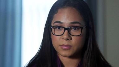 PHOTO: Jahveel Ocampo is one of hundreds of young people to file a formal complaint of mistreatment by border agents.