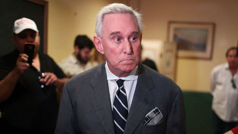 Roger Stone: 'I didn't ask Sam Nunberg to protect me, I don't think I require any protection'