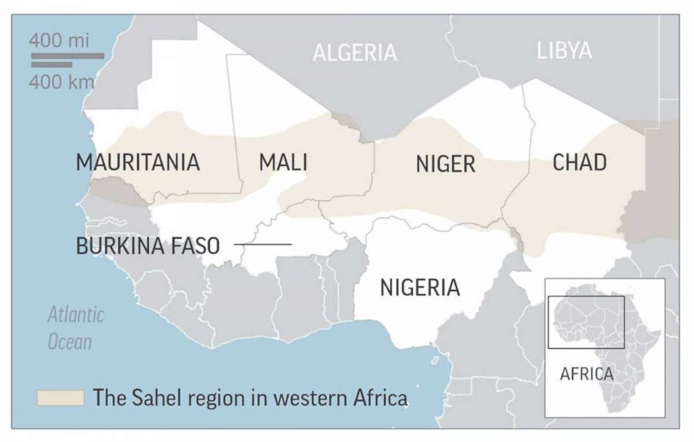 PHOTO: An escalation of violence across the Sahel.