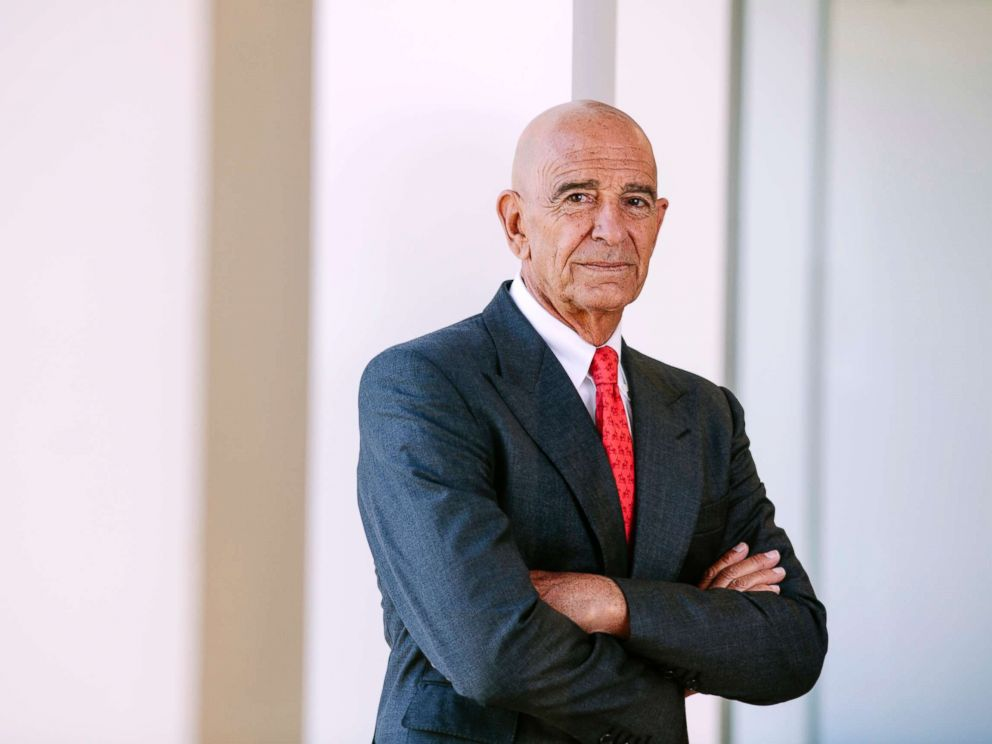 PHOTO: Tom Barrack, private equity real estate investor and founder, chairman, and CEO of Colony Capital, at his company offices in downtown Los Angeles, Sept. 29, 2017.
