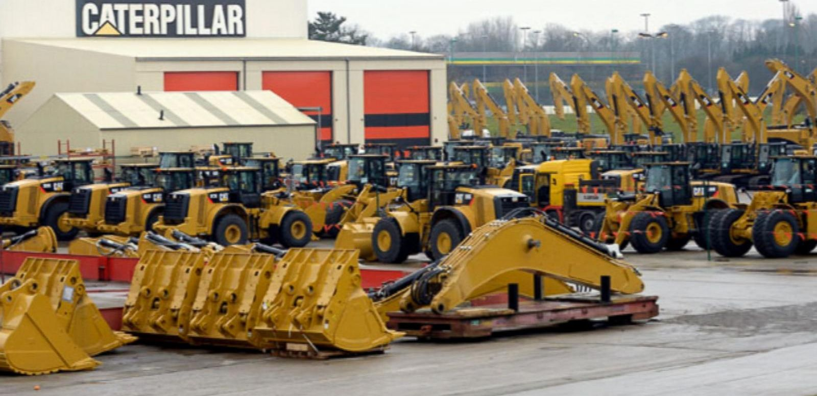 VIDEO: Caterpillar Drop Hits Dow Jones Industrials