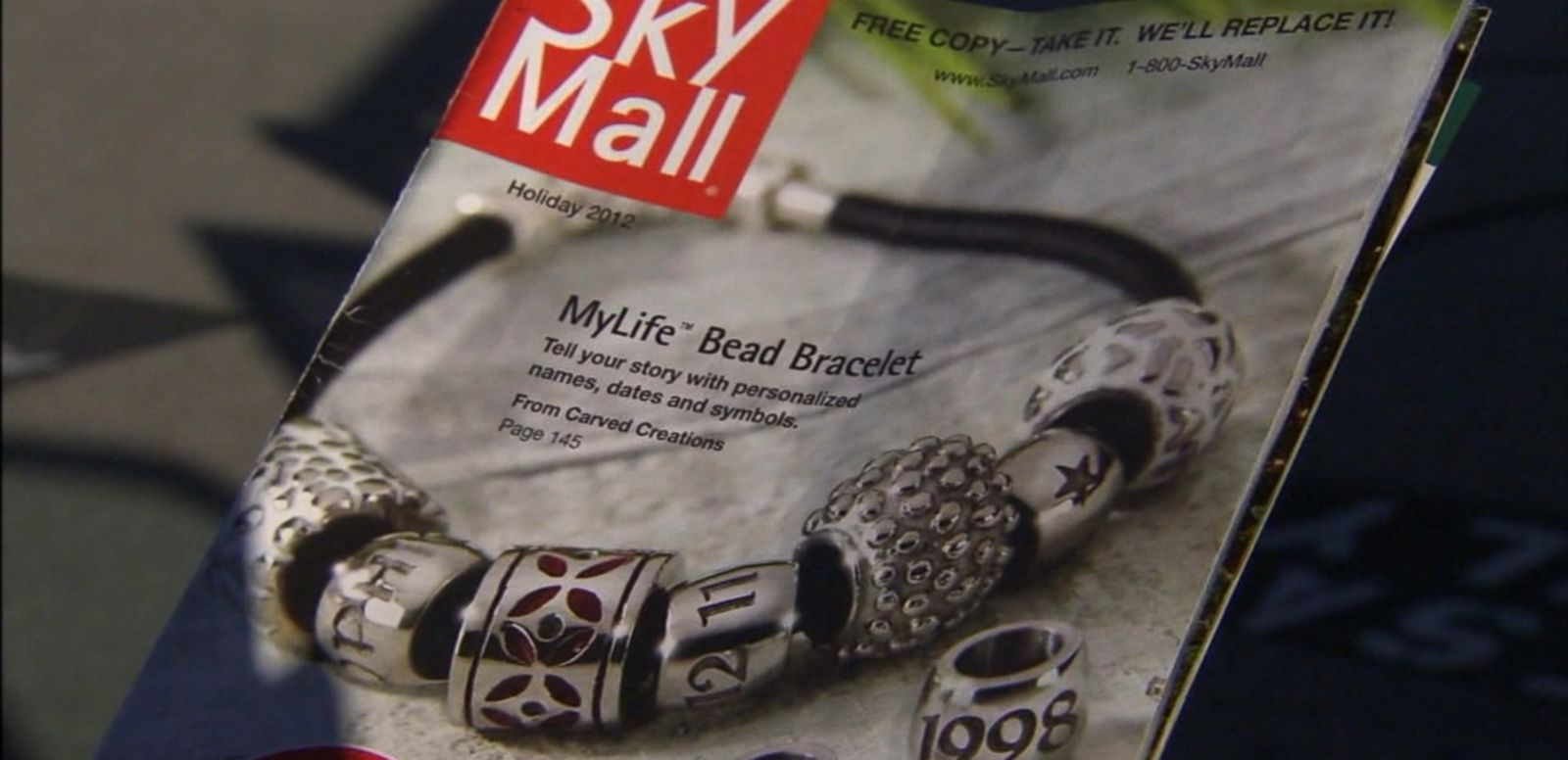 VIDEO: SkyMall declared bankruptcy in January but has since been purchased by a New Jersey-based company planning to revive the print catalog later this year.