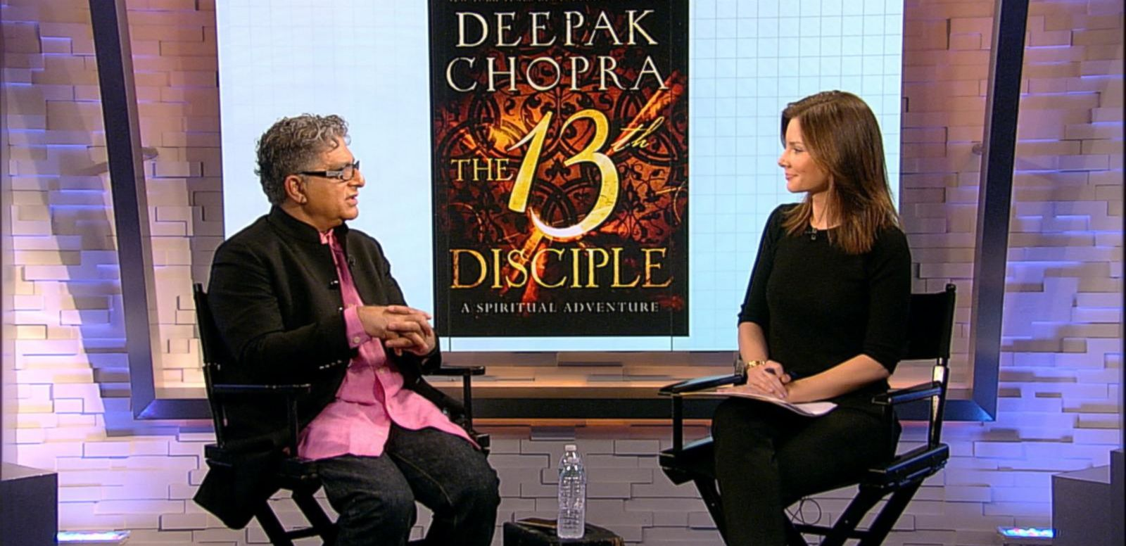 VIDEO: 'Real Biz' Rapid Fire: 10 Things You Don't Know About Deepak Chopra