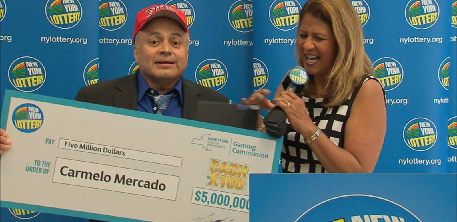 VIDEO: Retired NYC Firefighter Wins Millions in Lottery Drawing