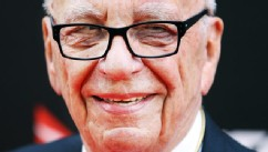 PHOTO: Rupert Murdoch poses during the Australian premiere of 'Les Miserables' at the State Theatre, Dec. 21, 2012 in Sydney, Australia.