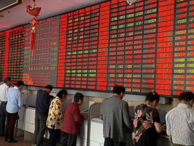 Watch:  Global Stocks React to Chinese Stock Plunge