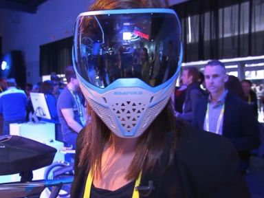 Watch:  Rebecca Jarvis Explores Intels Latest Technology at CES 2016