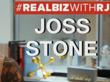 Watch:  Joss Stone on Real Biz with Rebecca Jarvis