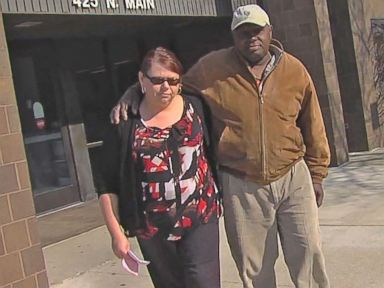 Watch:  Couple Arraigned on Larceny Charges for Late Library Books