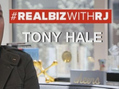 Watch:  Tony Hale on Real Biz with Rebecca Jarvis