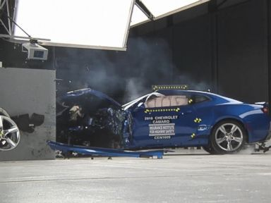 Watch:  How Muscle Cars Fared in Recent Crash Tests